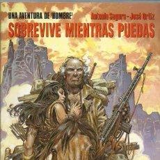 Cómics: HOMBRE 6: SOBREVIVE MIENTRAS PUEDAS (CIMOC EXTRA COLOR 107), 1994, NORMA, PRIMERA EDICIÓN, BUEN ESTA. Lote 206831842