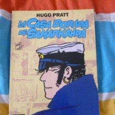 Cómics: LA CASA DORADA DE SAMARCANDA. HUGO PRATT. COLOR 1ª EDICIÓN, NORMA EDITORIAL 1992. 197PP. Lote 102050839