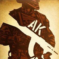 Fumetti: CÓMICS. AK-47. LA HISTORIA DE MIJAIL KALASHNIKOV - SERGIO COLOMINO/VARIOS ARTISTAS (CARTONÉ). Lote 102057167