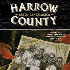 Cómics: CÓMICS. HARROW COUNTY 4. ÁRBOL GENEALÓGICO - CULLEN BUNN/TYLER CROOK. Lote 102104579