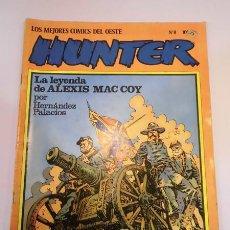 Cómics: HUNTER - LOS MEJORES COMICS DEL OESTE - NUM 8 - NORMA EDIT- AÑOS 80. Lote 102565290