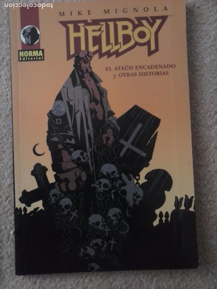 Cómics: HELLBOY 3 NºS - SEMILLA DE DESTRUCCION, DESPIERTA EL DEMONIO,EL ATAÚD ENCADENADO Y OTRAS HISTORIAS - Foto 2 - 102593275