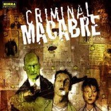 Cómics: CRIMINAL MACABRE - STEVE NILES - NORMA EDITORIAL. Lote 102691351