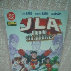 Cómics: JLA - MUNDO SIN ADULTOS - NORMA EDITORIAL. Lote 102691987