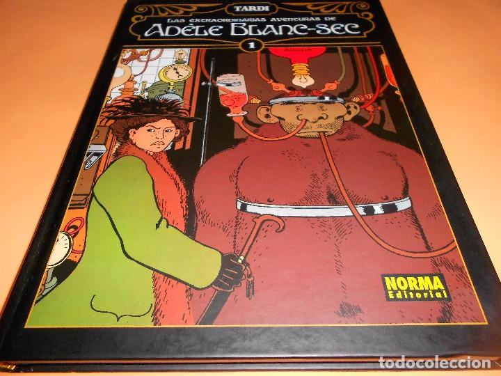 TARDI. LAS EXTRAORDINARIAS AVENTURAS DE ADELE BLANC-SEC. TAPA DURA. IMPECABLE ESTADO (Tebeos y Comics - Norma - Comic Europeo)