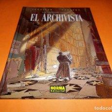 Cómics: LAS CIUDADES OSCURAS. EL ARCHIVISTA. SCHUITEN & PEETERS. RARO Y DIFÍCIL. 64 PAGINAS. IMPECABLE.. Lote 102825459