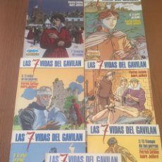 Cómics: LAS 7 VIDAS DEL GAVILAN. 7 TOMOS. CIMOC EXTRA COLOR. NORMA. Lote 102935011
