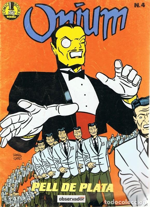 CÓMIC ONIUM Nº 4 (Tebeos y Comics - Norma - Comic Europeo)