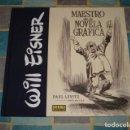 Cómics: WILL EISNER: MAESTRO DE LA NOVELA GRÁFICA, 2017, NORMA, IMPECABLE. Lote 103358667