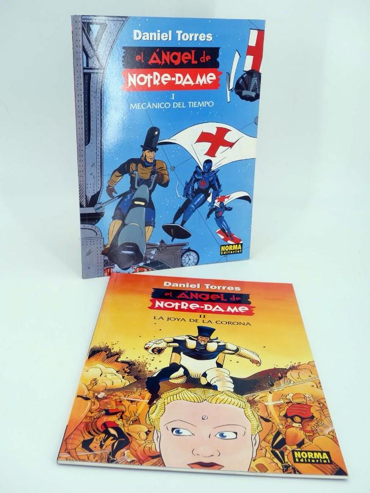 EL ANGEL DE NOTRE-DAME 1 Y 2. COMPLETA (DANIEL TORRES) NORMA, 1998. OFRT ANTES 14,4E (Tebeos y Comics - Norma - Comic Europeo)