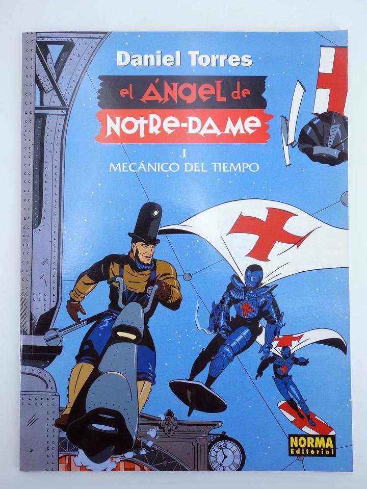 Cómics: EL ANGEL DE NOTRE-DAME 1 Y 2. COMPLETA (Daniel Torres) Norma, 1998. OFRT antes 14,4E - Foto 3 - 223296166