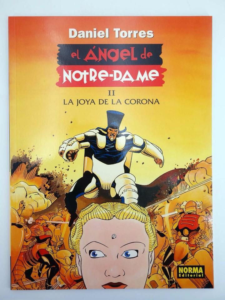 Cómics: EL ANGEL DE NOTRE-DAME 1 Y 2. COMPLETA (Daniel Torres) Norma, 1998. OFRT antes 14,4E - Foto 4 - 223296166