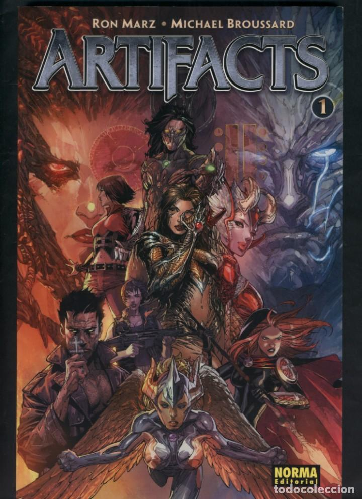 ARTIFACTS Nº 1 - RON MARZ - NORMA EDITORIAL (Tebeos y Comics - Norma - Comic USA)