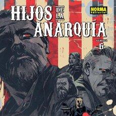 Cómics: CÓMICS. HIJOS DE LA ANARQUÍA 6 - RYAN FERRIER/MATÍAS BERGARA/PAUL LITTLE. Lote 195546386
