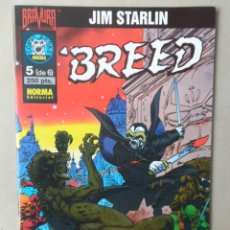 Cómics: BREED COMPLETA 6 NROS - POSIBLE ENVÍO GRATIS - NORMA - JIM STARLIN. Lote 103777839