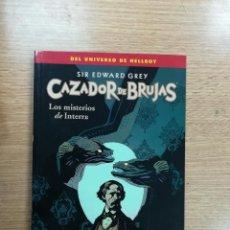 Cómics: SIR EDWARD GREY CAZADOR DE BRUJAS #3 LOS MISTERIOS DE INTERRA. Lote 103787895