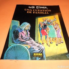 Cómics: UNA CUESTIÓN DE FAMILIA. WILL EISNER. RÚSTICA. BUEN ESTADO.. Lote 103964867