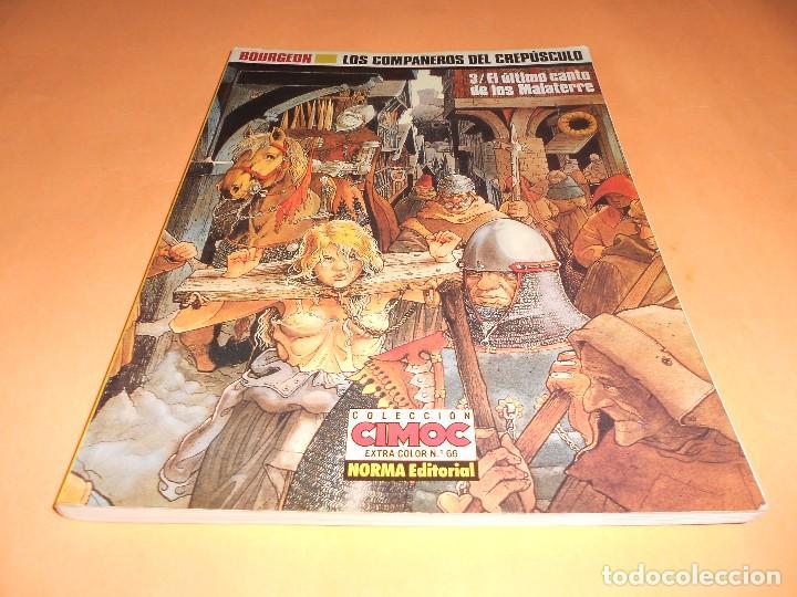 Cómics: LOS COMPAÑEROS DEL CREPÚSCULO. BOURGEON. COMPLETA 3 VOLÚMENES. BUEN ESTADO - Foto 5 - 104192239