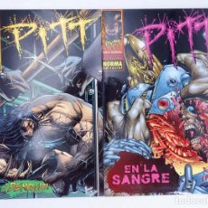 Cómics: PITT PACK 2 NUMEROS (ESPECIALES) (DALE KEOWN) NORMA. OFRT. Lote 125288347