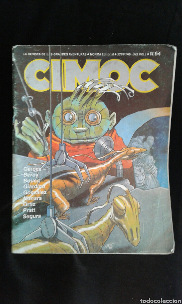 CIMOC NÚM. 64 (NORMA) (Tebeos y Comics - Norma - Cimoc)