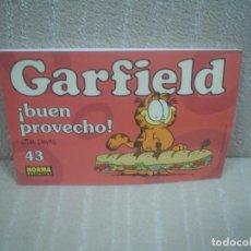 Cómics: GARFIELD # 43 ¡BUEN PROVECHO!. Lote 104279043