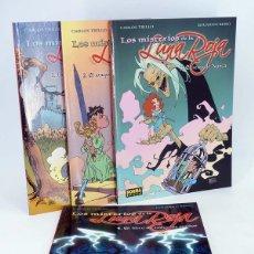 Cómics: LOS MISTERIOS DE LA LUNA ROJA 1 A 4. COMPLETA (CARLOS TRILLO, EDUARDO RISSO) NORMA, 2005. OFRT. Lote 289995383