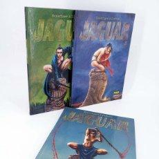 Comics: JAGUAR 1 A 3. COMPLETA (BOSSCHAERT / DUFFAUX) NORMA, 2002. OFRT ANTES 37E. Lote 262481055
