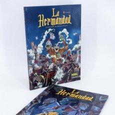 Cómics: LA HERMANDAD 1 Y 2 COMPLETA (DRAGAN / OSCAR MARTIN) NORMA, 2007. OFRT ANTES 26E. Lote 185020322