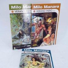 Cómics: COLECCIÓN MILO MANARA 9 10 11. VERANO INDIO COMPLETA (MANARA / PRATT) NORMA, 1999. OFRT ANTES 10,3E. Lote 266830069