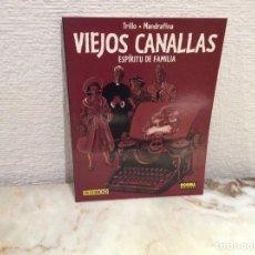 Cómics: VIEJOS CANALLAS, ESPIRITU DE FAMILIA / TRILLO -ED. NORMA COLECCION BN Nº 34. Lote 104489595