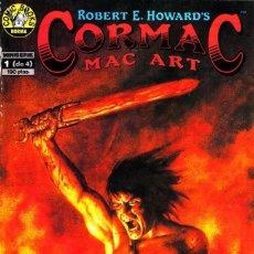 Cómics: ROBERT E. HOWARD´S CORMAC MAC ART. 4 NUMEROS. COMPLETA. 1991 NORMA. Lote 104658923