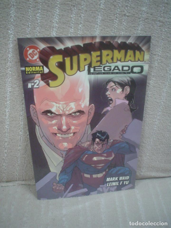 SUPERMAN - LEGADO # 2 (Tebeos y Comics - Norma - Comic USA)