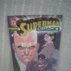 Cómics: SUPERMAN - LEGADO # 2. Lote 104689647