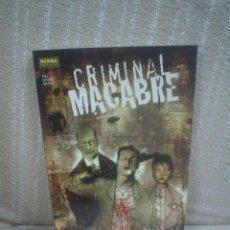 Cómics: CRIMINAL MACABRE - STEVE NILES - NORMA EDITORIAL. Lote 104691211