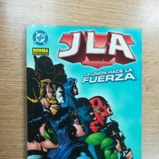 Cómics: JLA LA UNION HACE LA FUERZA. Lote 104707063