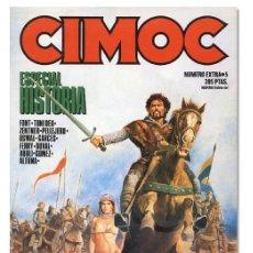 Cómics: CIMOC ESPECIAL HISTORIA Nº 5: ABULI, ALTUNA, GARCÉS, FONT, PELLEJERO… NORMA EDITORIAL, 1985. Lote 105100571