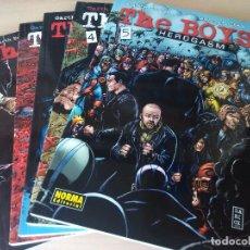 Cómics: COMICS - THE BOYS - 5 PRIMEROS NÚMEROS - EDITORIAL NORMA. GARTH ENNIS. Lote 105264947