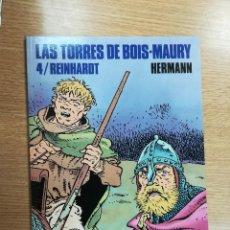 Cómics: LAS TORRES DE BOIS-MAURY #4 REINHARDT (CIMOC EXTRA COLOR #101). Lote 105588019