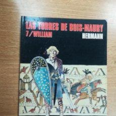 Cómics: LAS TORRES DE BOIS-MAURY #7 WILLIAM (CIMOC EXTRA COLOR #140). Lote 105588275