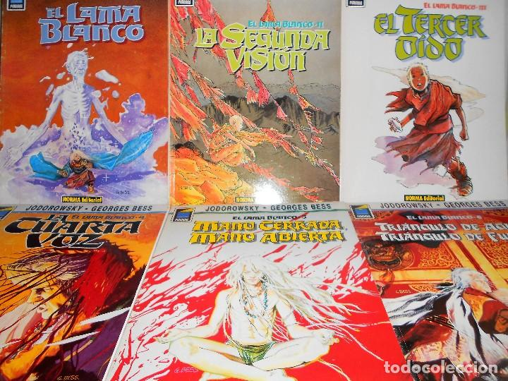 EL LAMA BLANCO. COMPLETA. JODOROWSKY & BESS. 6 TOMOS. BUEN ESTADO. (Tebeos y Comics - Norma - Comic Europeo)