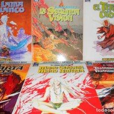 Comics - EL LAMA BLANCO. COMPLETA. JODOROWSKY & BESS. 6 TOMOS. BUEN ESTADO. - 105997139