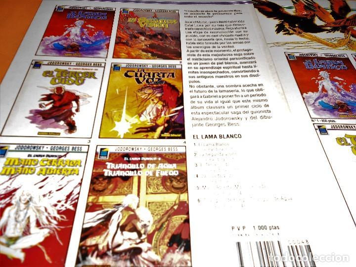 Cómics: EL LAMA BLANCO. COMPLETA. JODOROWSKY & BESS. 6 TOMOS. BUEN ESTADO. - Foto 4 - 105997139