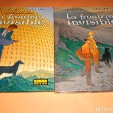 Cómics: LA FRONTERA INVISIBLE 1 Y 2. LAS CIUDADES OSCURAS. CARTONÉ. IMPECABLES.. Lote 105997791