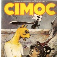 Cómics: CIMOC. Nº 109. NORMA. (P/B4). Lote 105999839