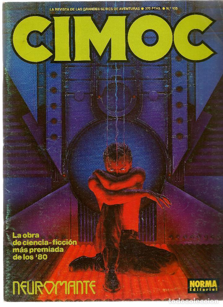 CIMOC. Nº 105. NORMA. (P/B4) (Tebeos y Comics - Norma - Cimoc)