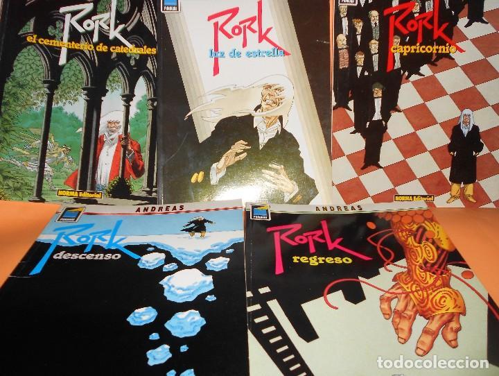 RORK. ANDREAS. COMPLETA. 5 NÚMEROS. BUEN ESTADO. (Tebeos y Comics - Norma - Comic Europeo)