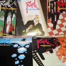 Cómics: RORK. ANDREAS. COMPLETA. 5 NÚMEROS. BUEN ESTADO.. Lote 106078167