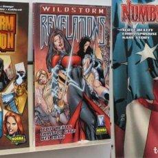 Comics : PACK 3 TOMOS NORMA: WILDSTORM ARMAGEDDON + WILDSTORM REVELATIONS + NUMBER OF THE BEST. SAGA COMPLETA. Lote 106938075