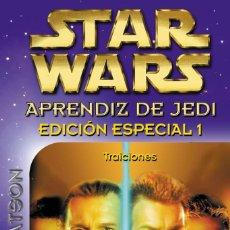 Cómics: COLECCION DE LIBROS APRENDIZ DE JEDI COMPLETA (EXCEPTO NUMERO 3) 19 LIBROS. Lote 107084151