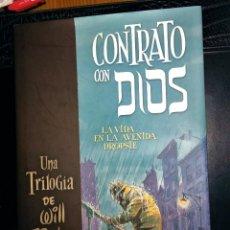 Cómics: TRILOGÍA CONTRATO CON DIOS - WILL EISNER - 1ª EDICIÓN TAPA DURA CARTONÉ COMO NUEVA NORMA EDITORIAL. Lote 107333339